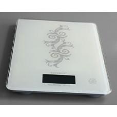 Köksvåg 1 gram - 6 Kg Vit