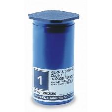 Plastetui för vikt 100 gram.