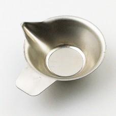 Användbar rostfri skål för t.ex. krut